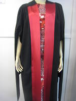 Hire Gown - Doctoral Gown with Facing