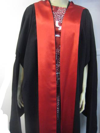 Buy Massey Univesity PhD Hood/Stole Facing