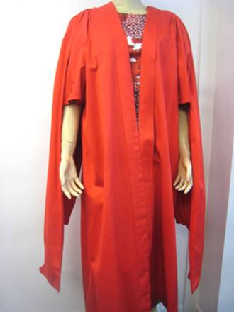 Hire Gown - Scarlet Doctoral